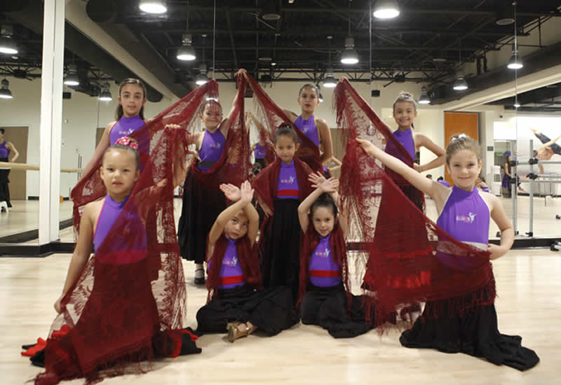 Kids Flamenco Dance Classes