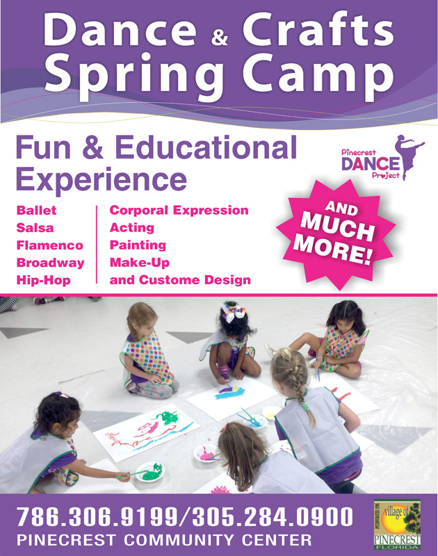 Dance & Crafts Spring Camp - Pinecrest Dance Project
